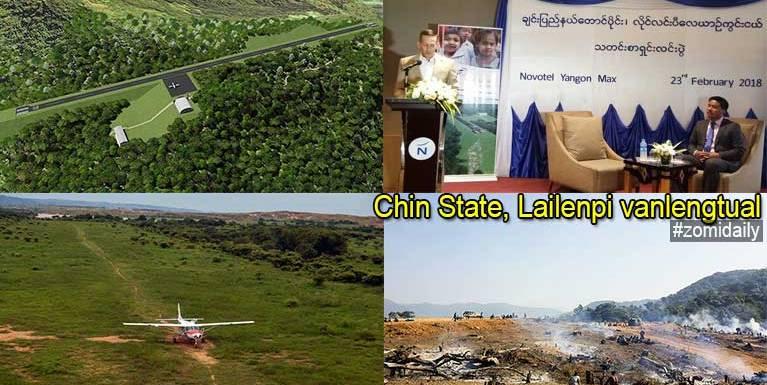 Chin State, Lailenpi khua ah vanlengtual bawldingvai Press Conference kinei