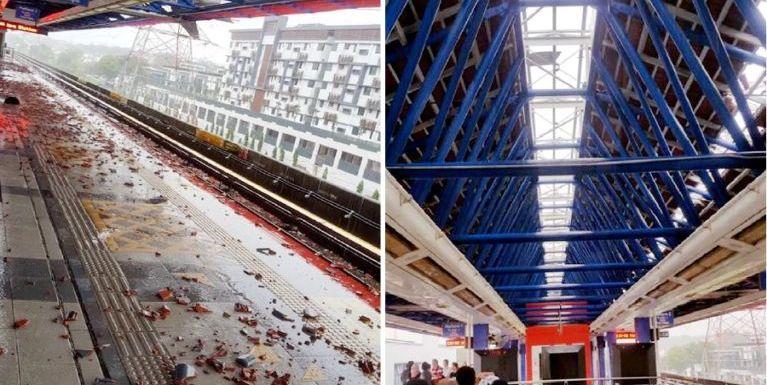Malaysia: Huihpi leh guahpi kithuah in Kelana Jaya LRT Station atungkhuh teng mutkhia