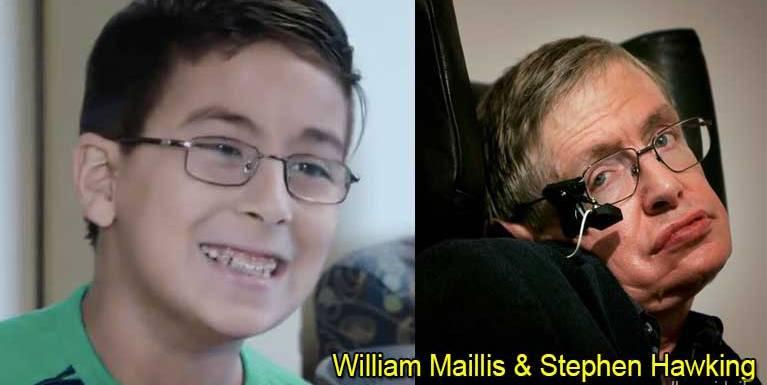 Kum 11 apha naupang William Maillis in Stephen Hawking Khial hi ci