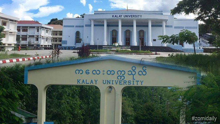 Aki patcil in Khai Kam College, tuciang in Kalay University :: ZOMI DAILY