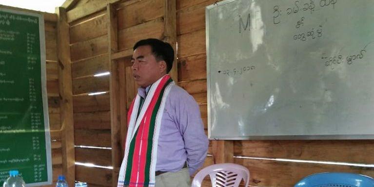MP Pu Kham Khan Thang teelcing angahna Tonzang huamteng ah zinkawikawi