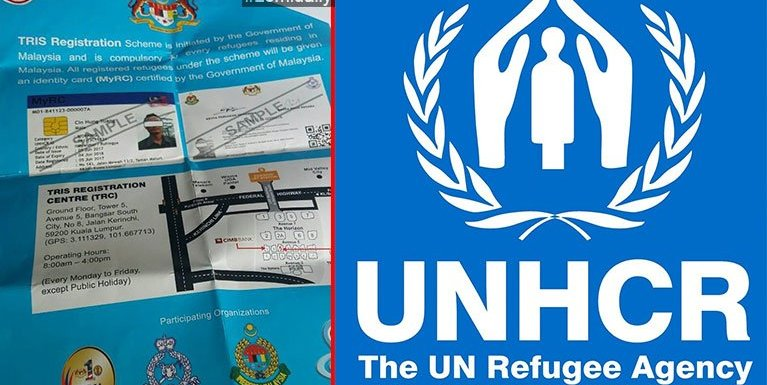 UNHCR panin MyRC Card (TRIS) vaitawh kisai Refugee tetung zaksakna