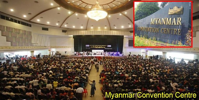 Myanmar Convention Centre ki phelkhia in, athak ahoihzaw in ki lamkikding