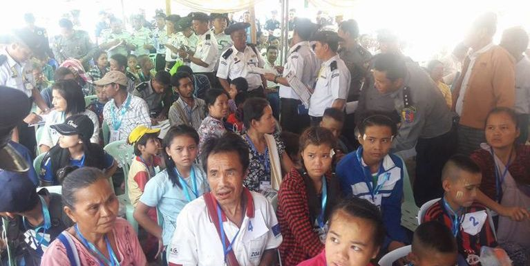 Thai gamsung aom Myanmar Refugee mi 93 te ki ciahsak