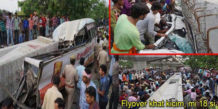 India gamsungah Flyover lei khat kicim in mi 18 denglum