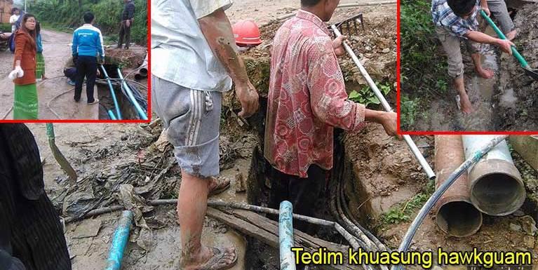 Tedim News: Khuasung hawkguam vai & Mawtaw Licence vai