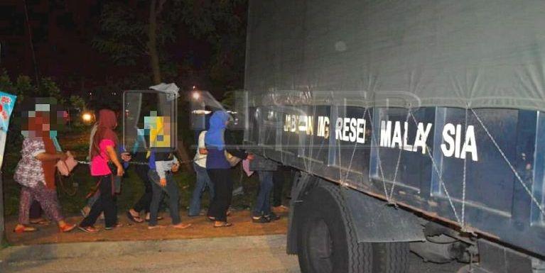 Malaysia, Uptown Shah Alam sungteng ah Immigration te'n Operasi bawl, mi 67 mansuak