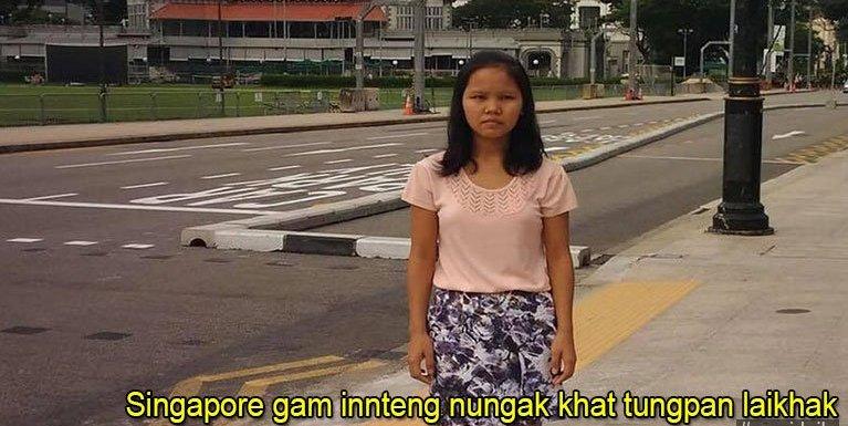 Singapore gam innteng nungak khat tungpan laikhak