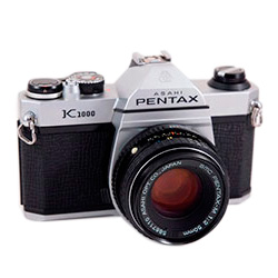 2. PENTAX K 1000