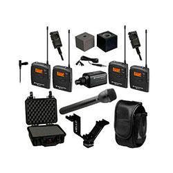 1. Sennheiser ew 100 ENG G3 Dual Wireless Basic Kit – A (516-558 MHz)