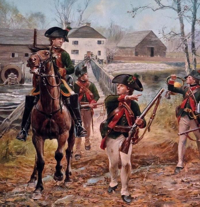 Jagers del Cuerpo de Hesse-Cassel, 1776 - 1783 . Por Don Troiani.