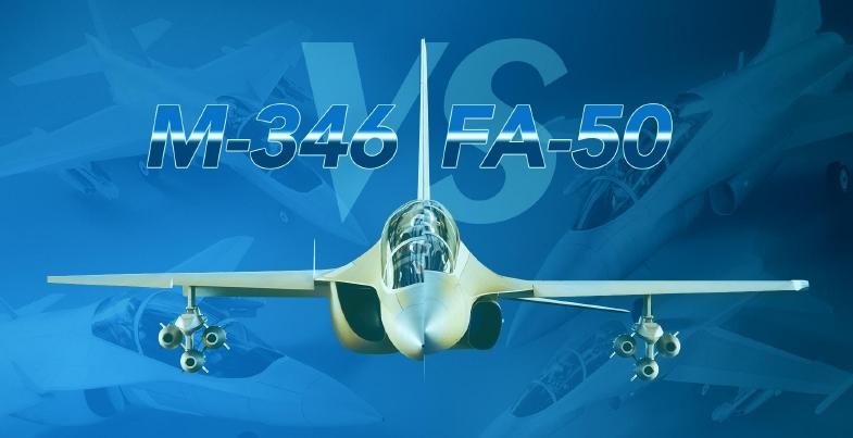 M-346 vs FA-50.