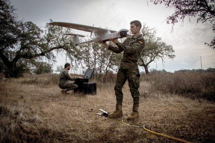 Ejército español evalúa el RPAS Mantis Indra