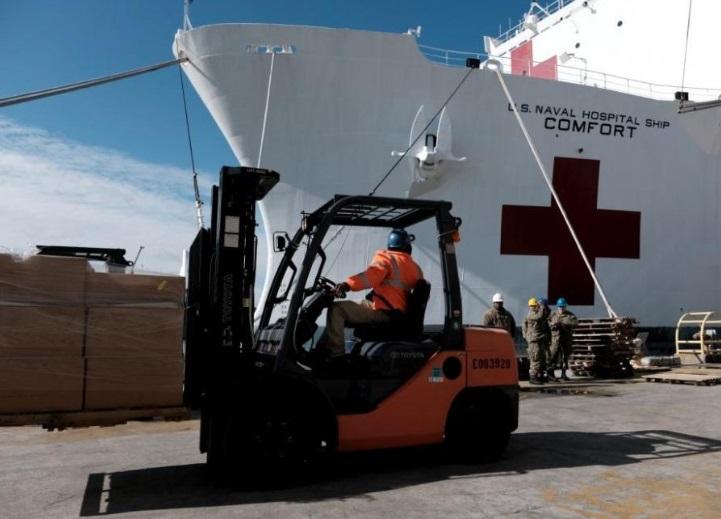 buque hospital de la Marina de los EEUU