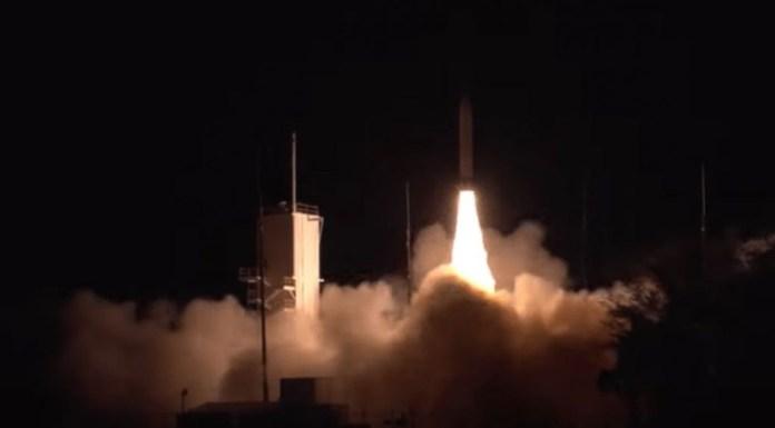El Pentágono prueba con éxito prototipo de misil hipersónico