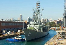 coronavirus HMAS Newcastle