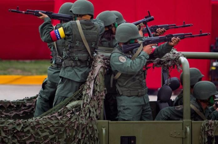 Ejército venezolano