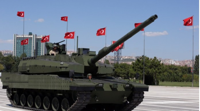 tanque altay