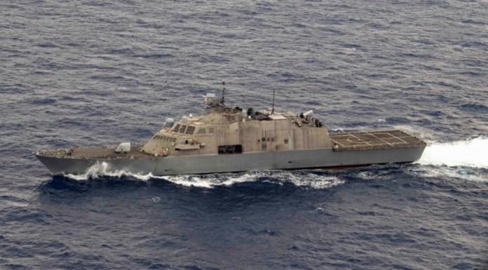 buque de combate litoral freedom