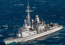 French frigate Jean Bart D615