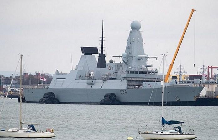 Destructor tipo 45 HMS Diamond D34