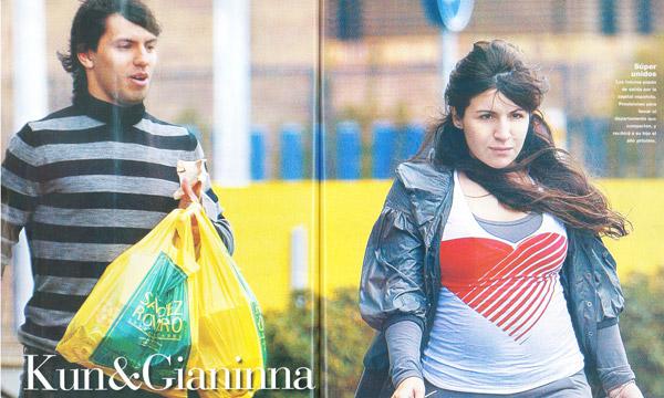 Agüero y Giannina
