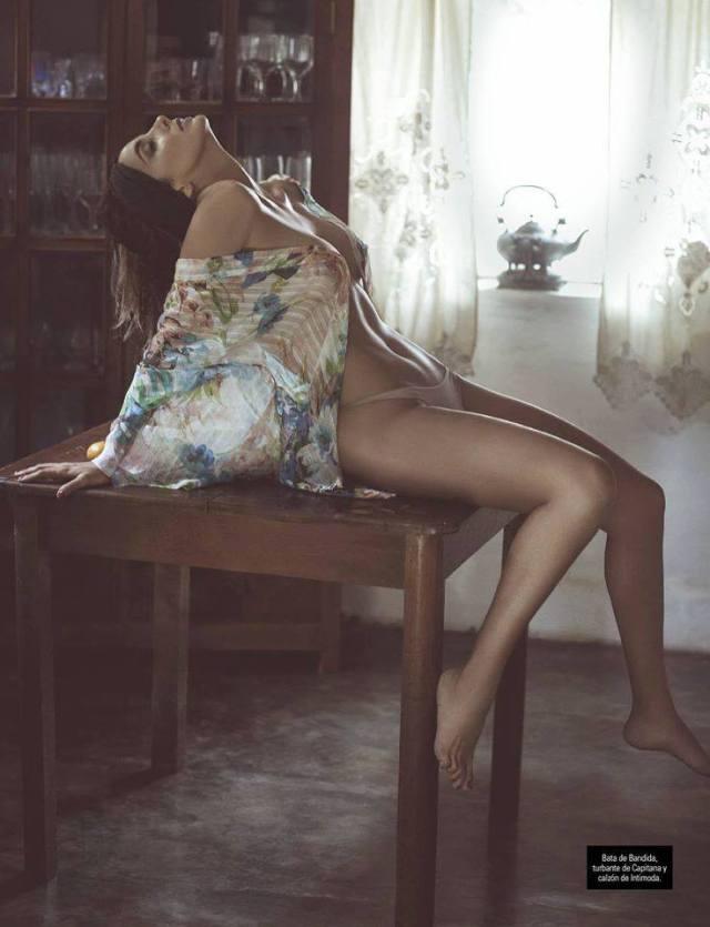 Fiorella Flórez posa para Cosas Hombre (5)