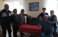 Две дарения получи пенсионерският клуб в Гюльовца