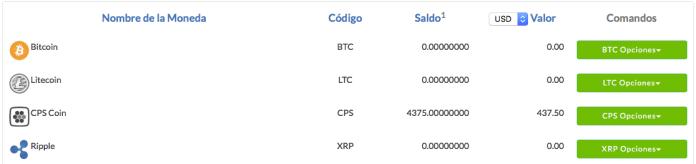 CPS Coin Airdrop en CoinPayments