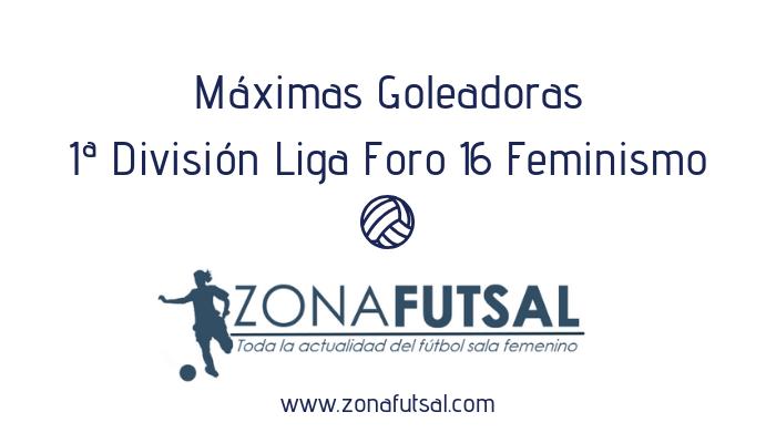 Máximas Goleadoras de 1ª División Liga Foro 16 Feminismo