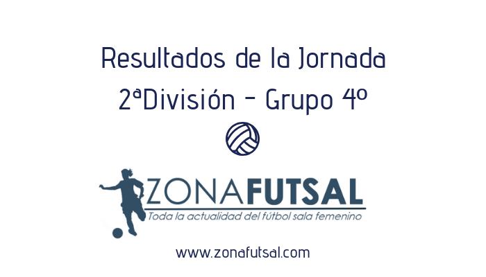 Resultados. 2ª División de Fútbol Sala Femenino. Grupo 4º. Jornada 18