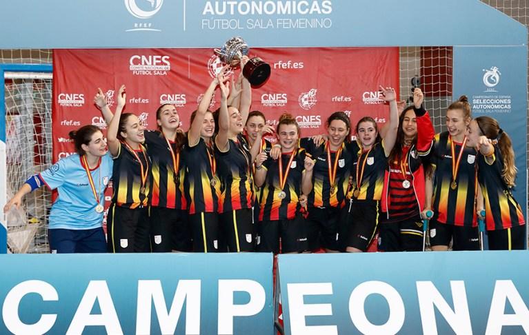La Selección de Cataluña Sub 20 Campeona de España