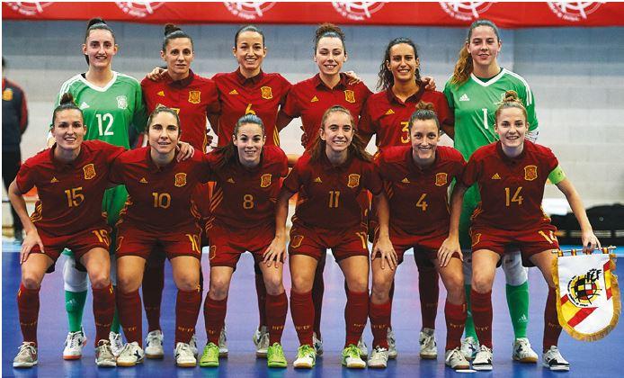 La Selección Española de Fútbol Sala Femenino gana 7-0 a Eslovenia en el segundo amistoso