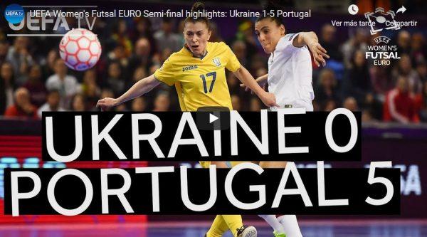 Resumen de la Semifinal entre Portugal y Ucrania