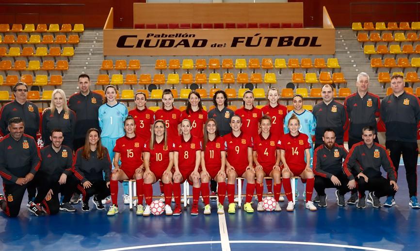La Selección Española de Fútbol Sala Femenino y Portugal empatan a dos en el segundo partido amistoso