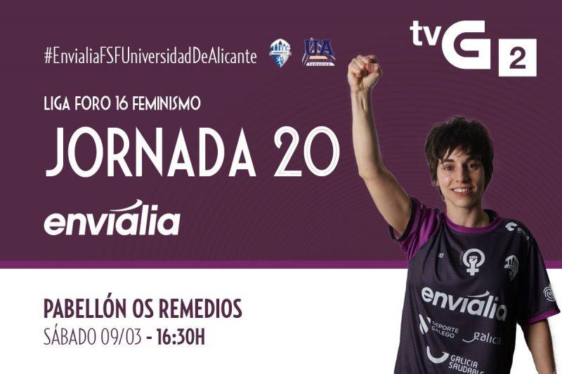 Emisión en Directo: Ourense Envialia FSF - Universidad de Alicante FSF. Jornada 20