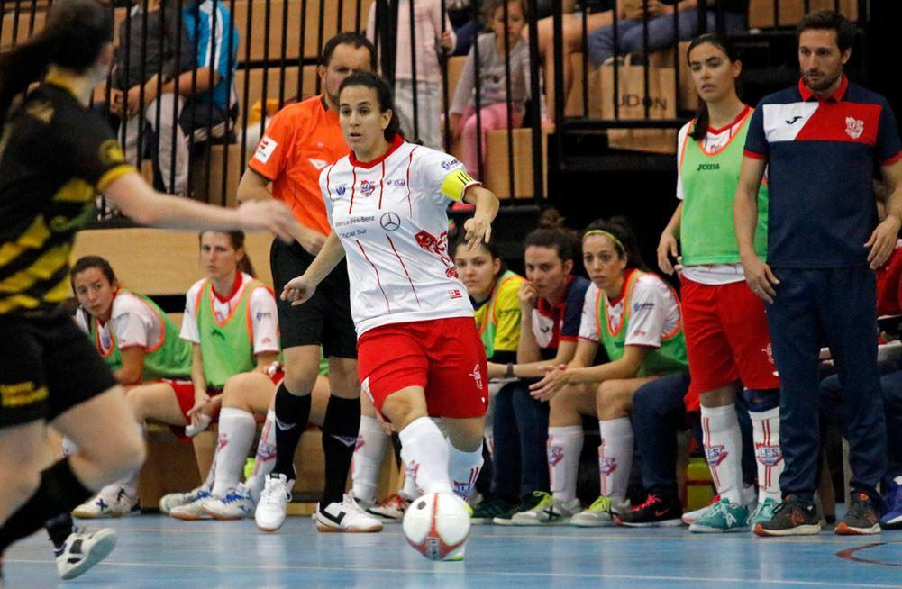 """Patry (Jugadora y Capitana de CD Leganés FS):""""A día de hoy, dependemos de nosotras mismas. Todos los equipos que nos quedan por jugar, van a ser difíciles, pero tenemos que ir a ganarlos."""""""