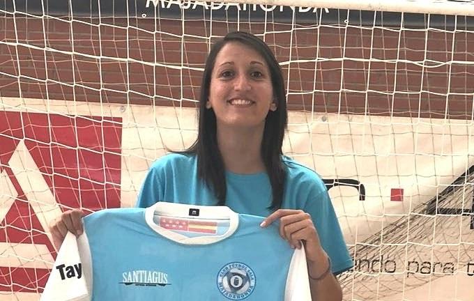 """Coral (Jugadora de FS Majadahonda): """"Actualmente estamos en un buen momento, sacando buenos resultados en partidos muy importantes."""""""