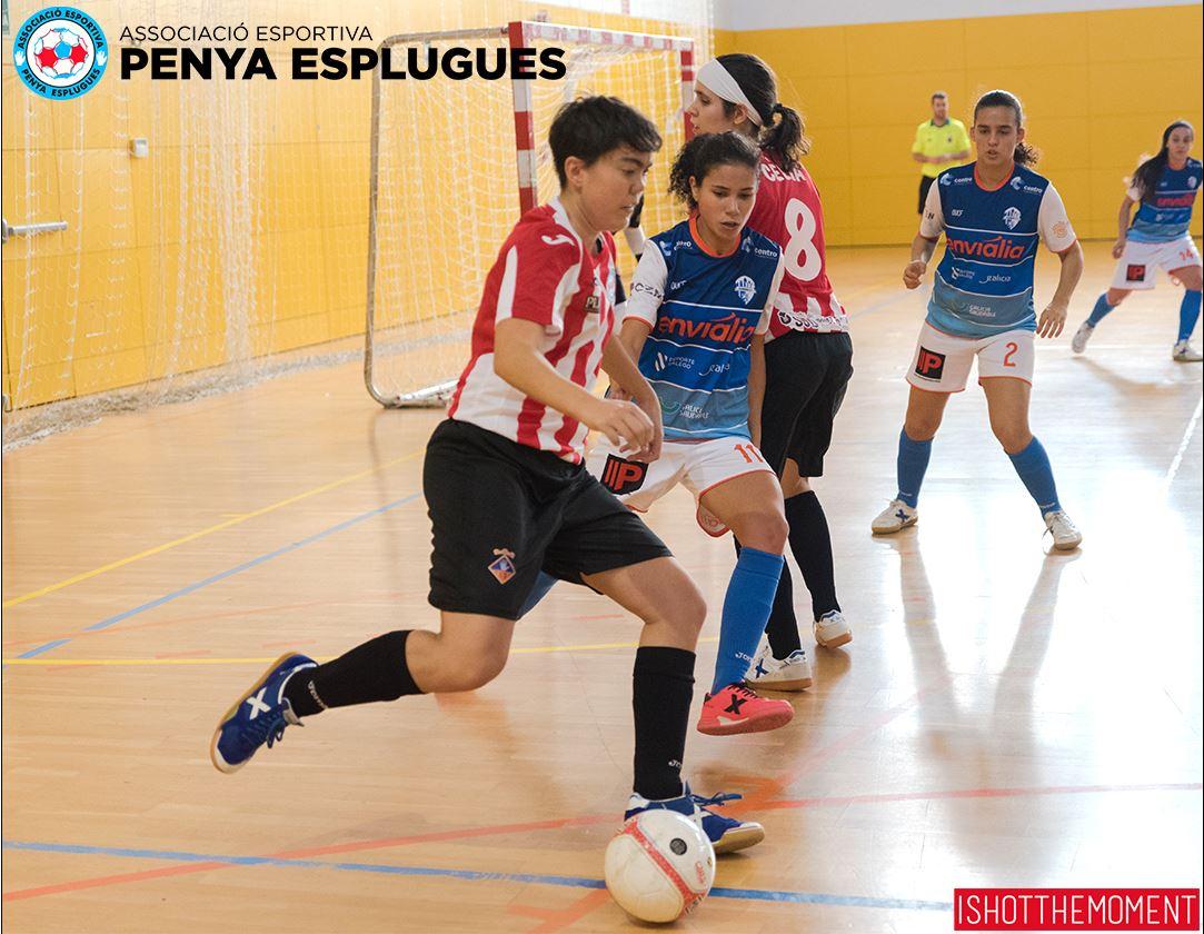 """Pilar Ribes (Jugadora AE Penya Esplugues): """"El equipo trabaja a fondo cada día para recuperar las buenas sensaciones"""""""