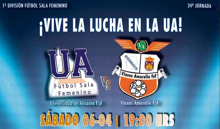 Emisión en Directo: Universidad de Alicante FSF - Viaxes Amarelle FSF. Jornada 24