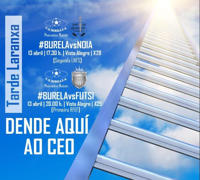 """El """"Clásico"""" llega a Burela, por fin."""