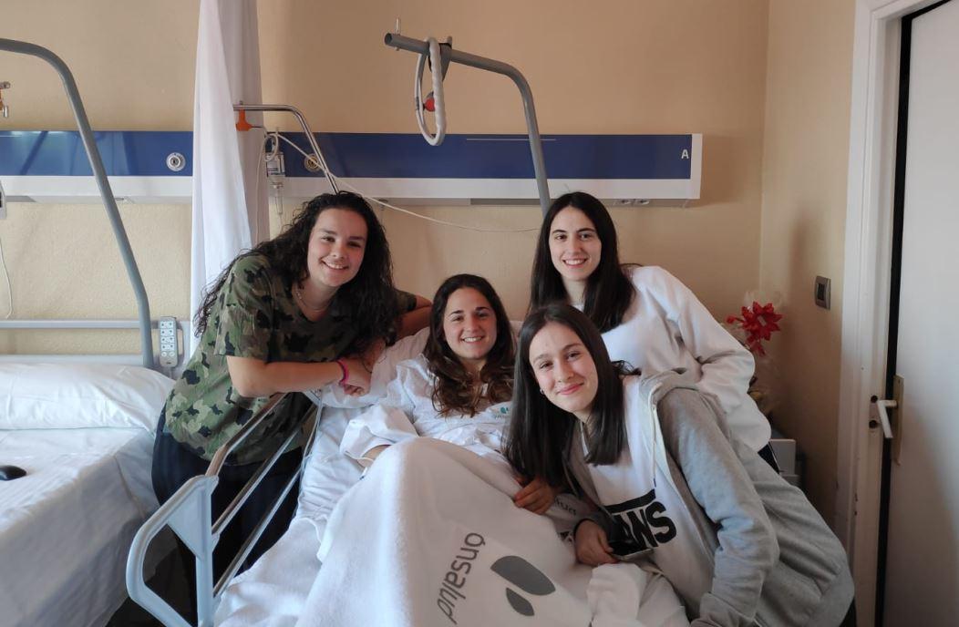 Irune Santesteban ha sido intervenida en la mañana de este viernes en el Hospital Quirónsalud de A Coruña