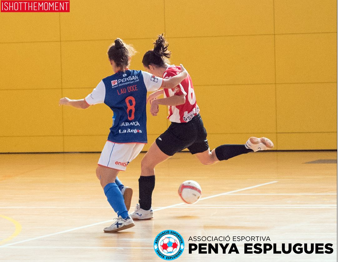 Previa: AE Penya Esplugues - Cidade de As Burgas . Jornada 21ª. 1ª División de Fútbol Sala Femenino