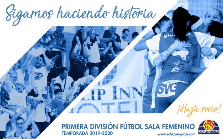 """""""Sigamos haciendo historia"""", campaña de abonados de Sala Zaragoza"""