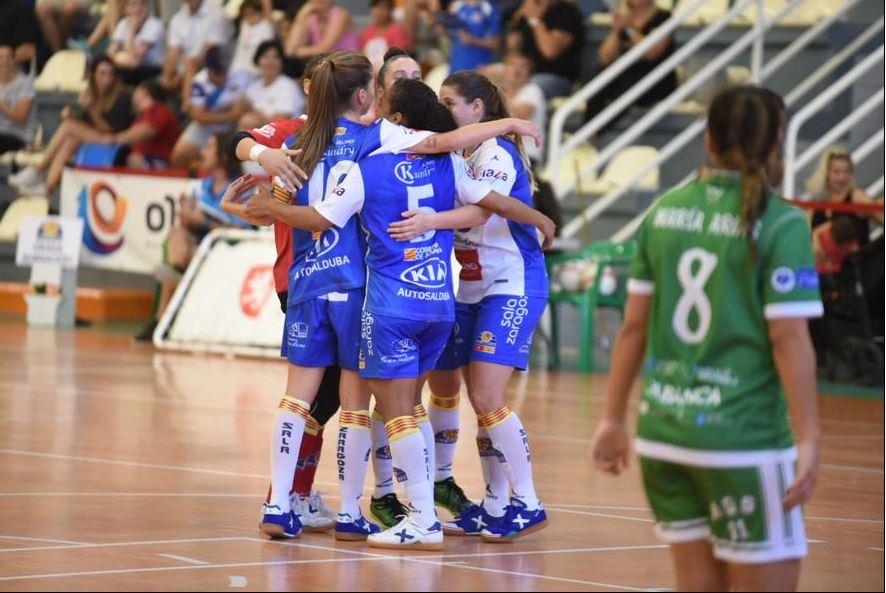 Crónica: Sala Zaragoza - STV Roldán. Jornada 21ª. 1ª División Fútbol Sala Femenino