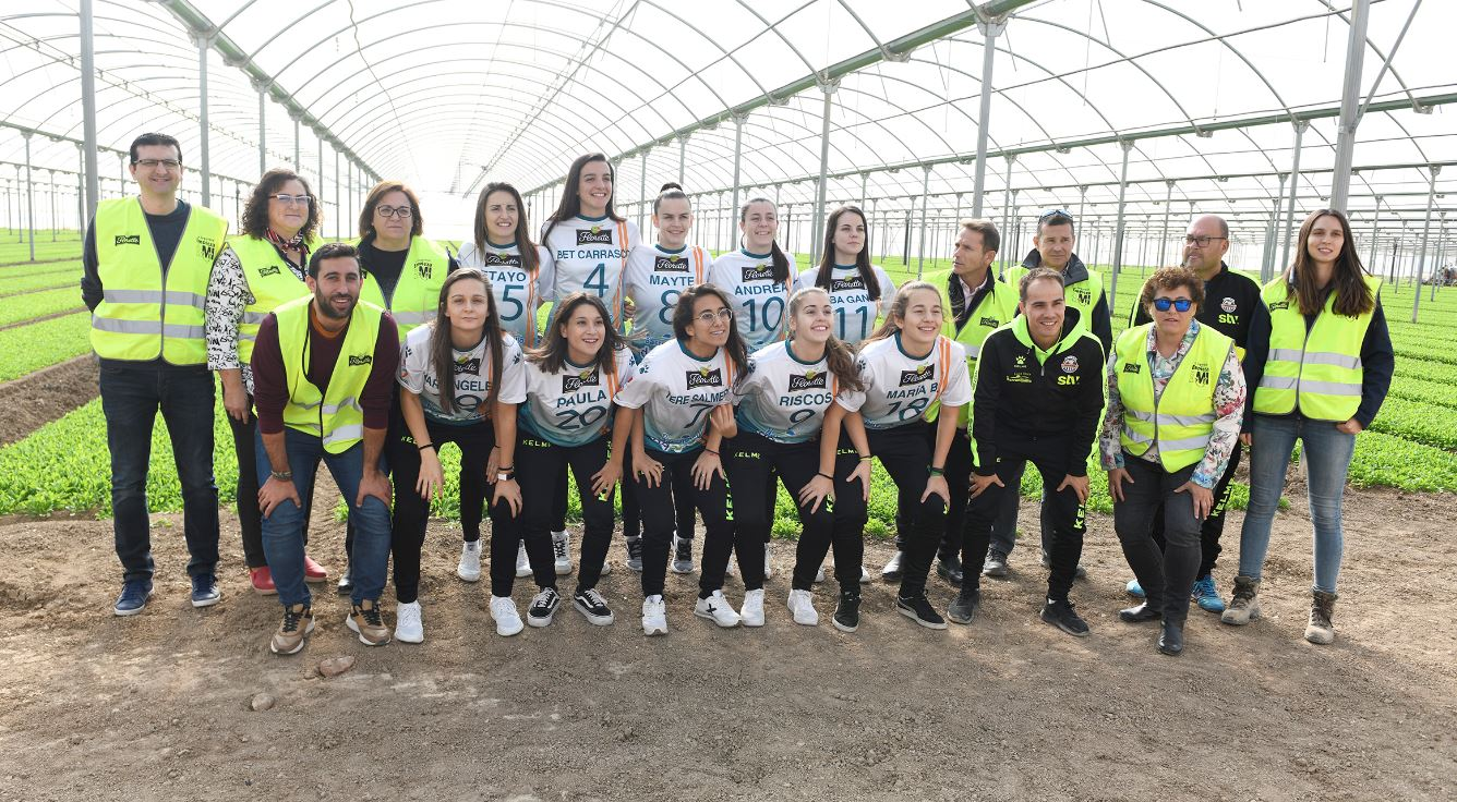 Los agricultores de Florette Murcia reciben la visita de STV Roldán FSF