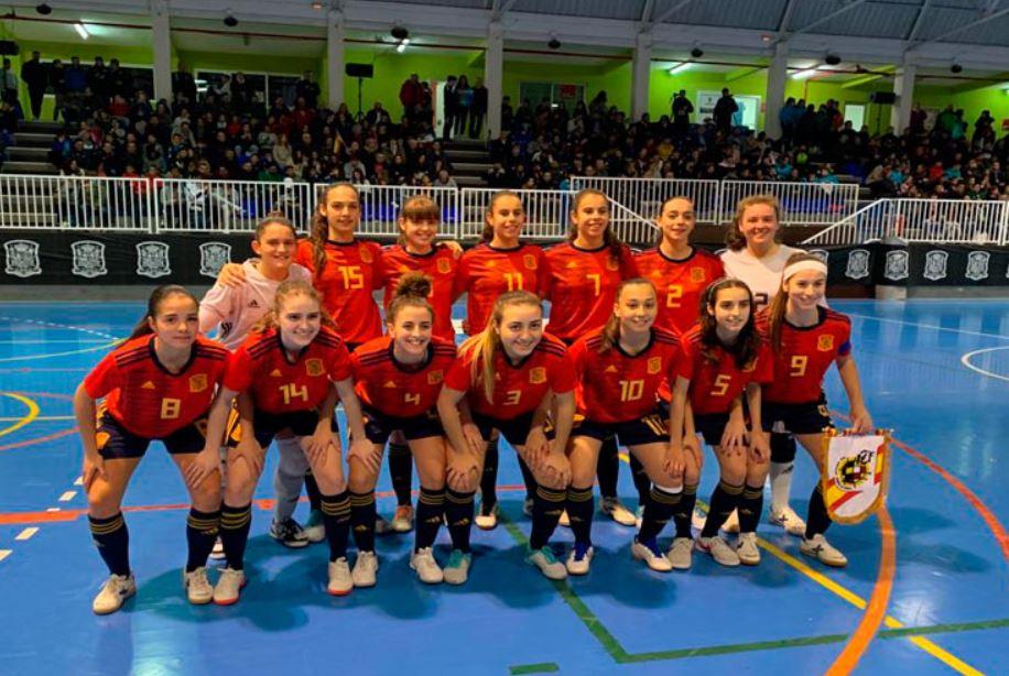Crónica: 1er Amistoso entre España Sub 19 de Fútbol Sala Femenino y Portugal