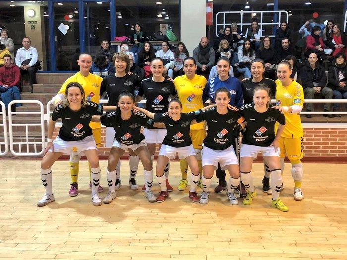 Crónica: Bilbo C.F.S Femenino - FSF Móstoles . Jornada 23ª. 1ª Div. de Fútbol Sala Femenino