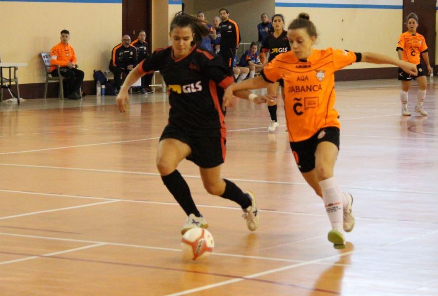 Previa: Comarcal A Ferveznza FSF - Viaxes Amarella FSF. Jornada 16ª. 2ª División de Fútbol Sala Femenino. Grupo 1º
