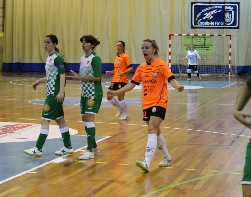 Crónica: Viaxes Amarelle FSF - FSF Castro. Jornada 12ª. 2ª División. Grupo 1º. Fútbol Sala Femenino